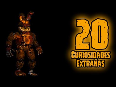TOP 20: 20 Curiosidades Extrañas De Jack-o Bonnie De FNAF 4 Halloween