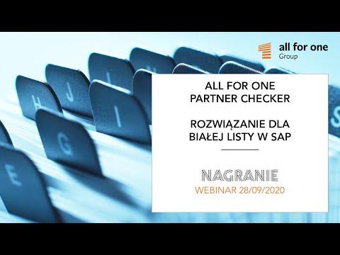 SNP Partner Checker – rozwiązanie dla białej listy w SAP