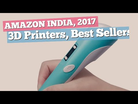 3D Printers, Best Sellers Collection // Amazon India, 2017