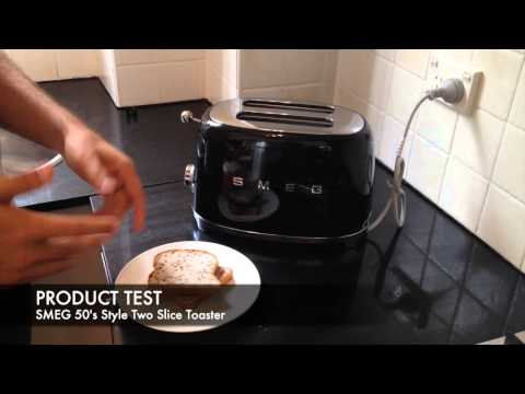 SMEG Retro 50's Style Two Slice Toaster (TSF01) - Unboxing & Review