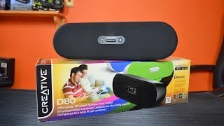 Creative D80 Wireless Bluetooth Speaker