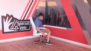 "Кресло SPECIAL4YOU Alize white от компании Компания ""TECHNOVA"" - видео"