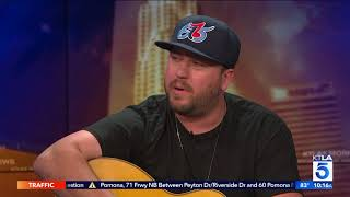 "Mitchell Tenpenny Performs ""Drunk Me"" Live On KTLA"