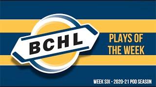 BCHL Plays of the Week: 2020-21 Week Six