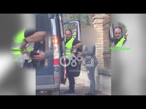 """""""BOOM"""": Polici italian filmohet duke i marrë para shoferit shqiptar (20 nëntor 2017)"""