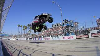MONSTER TRUCK RACE ACCIDENT - PURE ROBBY #THUG LIFE MOMENT