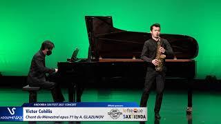 Victor Cohilis plays Chant du Ménestrel opus 71 by Alexander GLAZUNOV