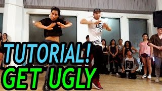 GET UGLY - Jason Derulo Dance TUTORIAL | @MattSteffanina Choreography (Advanced)