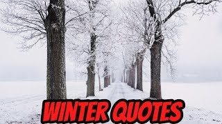 Beautiful Winter Quotes