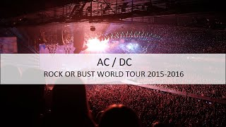 Intro Playlist - AC/DC - Rock or Bust World Tour 2015 2016