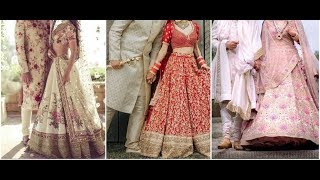 Latest Wedding Dresses For Indian Couple || Shaadi Outfits 2019 || Bride And Groom Matching Dresses