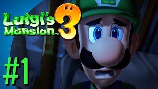 Luigi's Mansion 3 Part 1 - A Lovely Hotel!