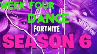 Fortnite Season 6 Week 3 Dance On Top Of A Pink Tree Free Online