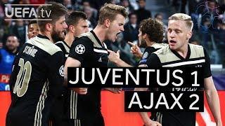 JUVENTUS 1-2 AJAX #UCL HIGHLIGHTS