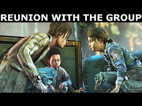 Download Reunion With The Group - Louis Path - The Walking Dead Final Season 4 Episode 4 HD Mp4 3GP Video and MP3
