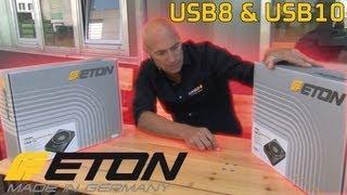 Eton USB8 und USB10   Aktivwoofer Review   ARS24