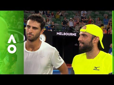 Cabal/Farah on court interview (SF) | Australian Open 2018