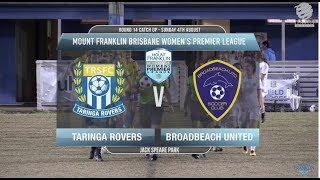 MFBWPL RD14cu Taringa Rovers v Broadbeach United