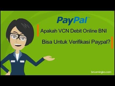 Apakah VCN Debit Online BNI Bisa Untuk Verifikasi Paypal?