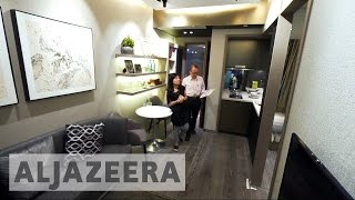 Al Jazeera - Micro flats tackle Hong Kong's high housing prices