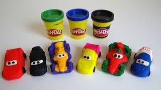 Play Doh Disney Pixar Cars 2 Grand Prix Race Mats