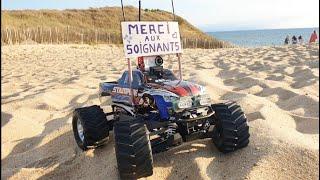 BEACH FPV RC CAR TRAXXAS STAMPEDE - COVID19