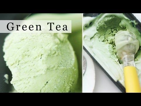 Video Green Tea Ice Cream, No-Machine Matcha Ice Cream Recipe 그린티 아이스크림 만들기 - 한글 자막