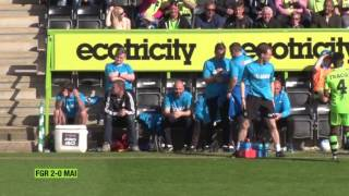 Watch the highlights from Saturday's 22 draw at The New Lawn against Maidstone United