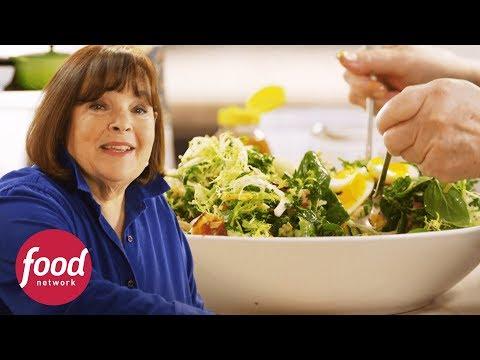 Ensalada Waldorf de pollo y espinaca | Cocinando con Ina Garten | Food Network Latinoamérica