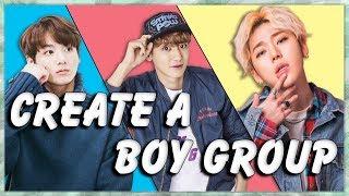 Create Your Own Kpop Boy Group (KPop Game)
