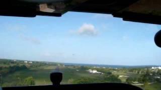 preview picture of video 'Attérrissage St-François'