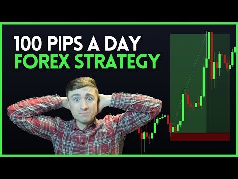 Simple Forex Trading Strategy: How to Catch 100 Pips a Day?