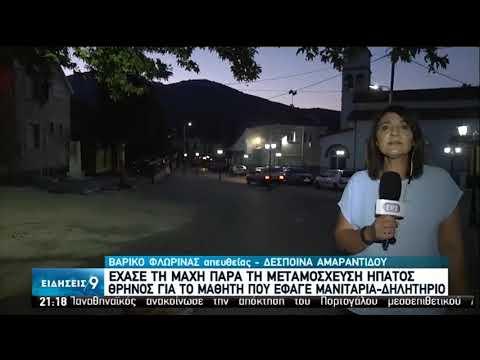 Βαρικό   Θρήνος για το μαθητή που έφαγε μανιτάρια – δηλητήριο   30/07/2020   ΕΡΤ
