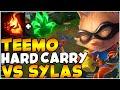 xBlotter Challenger Teemo Resolve Grasp Teemo Teemo vs Sylas Full Gameplay