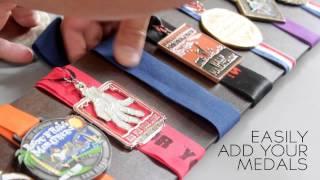 EDGE Series Race Medal Displays By Victorymedaldisplays.com