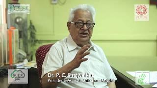 Dr. Shejwalkar, President Adarsh Shikshan Mandali
