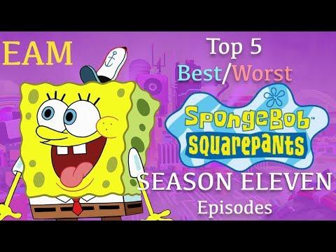 Top 5 Best/Worst SpongeBob Season 11 Episodes
