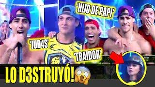 AUSTIN PALAO D3STRUYÓ A EMILIO JAIME EN DUELO DE HIP HOP