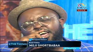 Moji Shortbabaa of gospel duo Kelele takatifu performs his new single 'Kuzitoka' - #theTrend