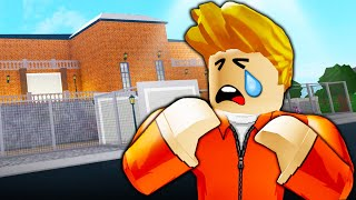 The Sad Secret of the Bloxburg Prisoner: A Sad Roblox Bloxburg Movie
