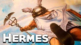 Hermes: The Messenger God - The Olympians - Greek Mythology Stories - See U in History