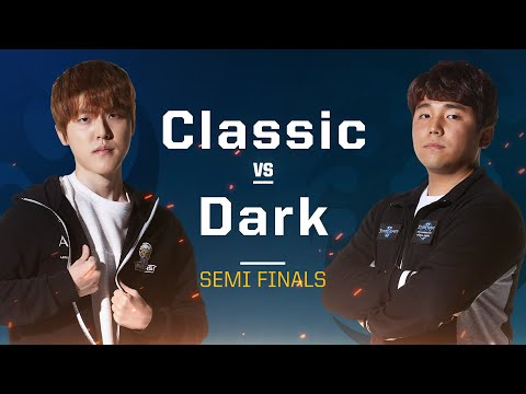 Starcraft 2 2019 WCS semifinals Classic vs Dark PvZ