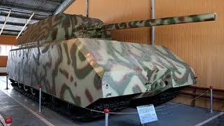 Обзор танка Maus изнутри.