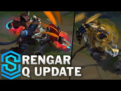 Rengar Q Update – All Skins