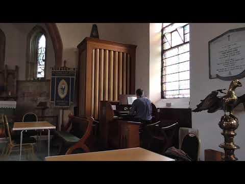 The Lord's my shepherd - Compton 'Miniatura II' pipe organ