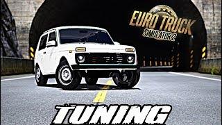 Lada Niva Tuning Mod 2018 - Euro Truck Simulator 2 (ETS2) [Salahov Mods]