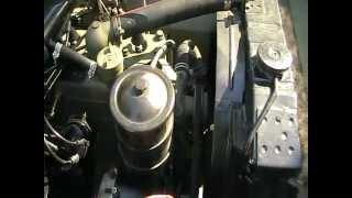 1943 willys mb engine start cold start