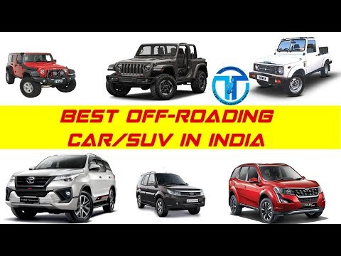 Best Off-Road Car/SUV In INDIA