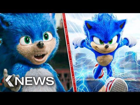 Sonic's Design fix leaked, The Batman, Fantastic Beasts 3.. KinoCheck News