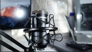 Neewer NW-700 Microphone Kit Review and Audio Test!